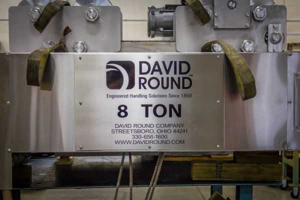 David Round Stainless Steel Wire Rope Hoist