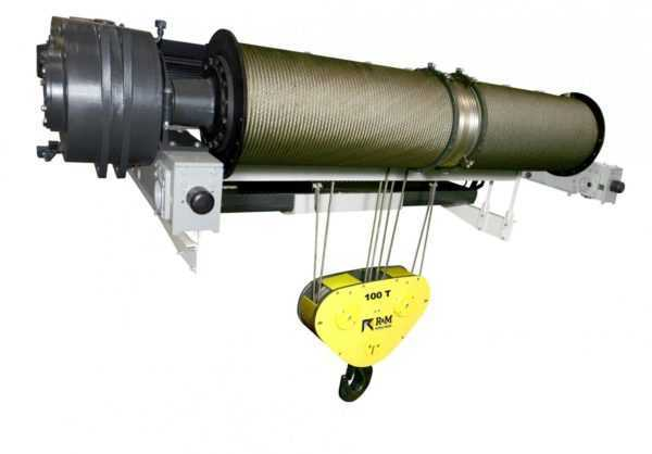 R&M SXL Heavy Lifting Winch